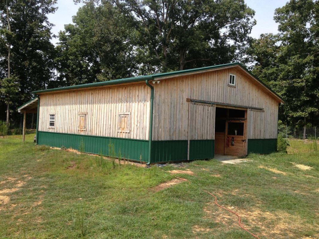 Horse barns z n cobb builders Horse barn builder