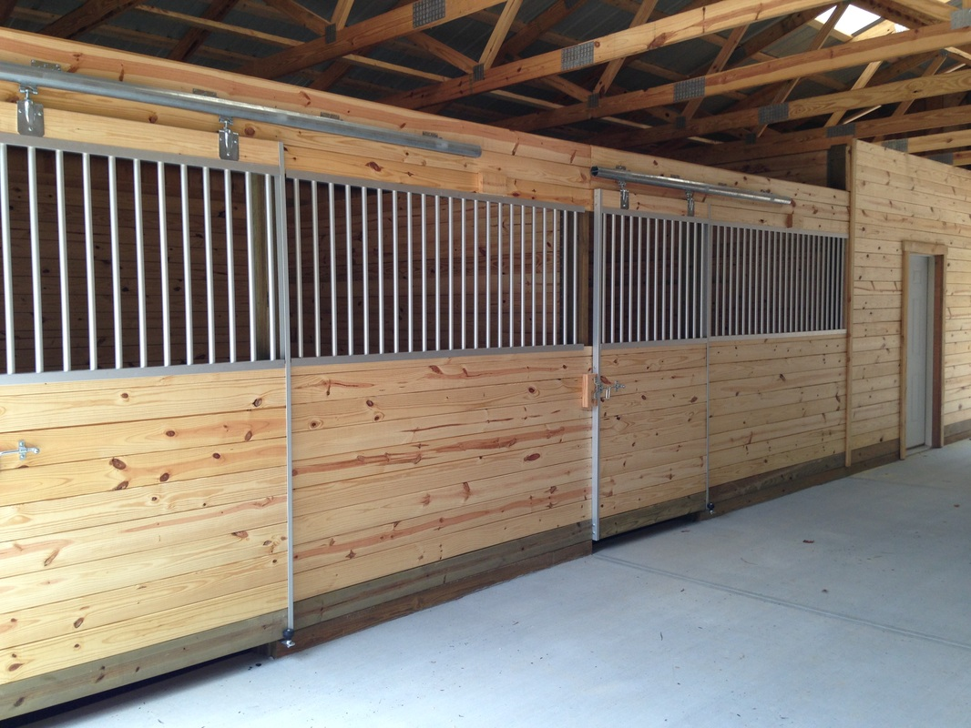 Horse stalls for Horse stall door plans