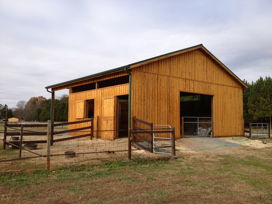 Horse barns for Horse barn materials