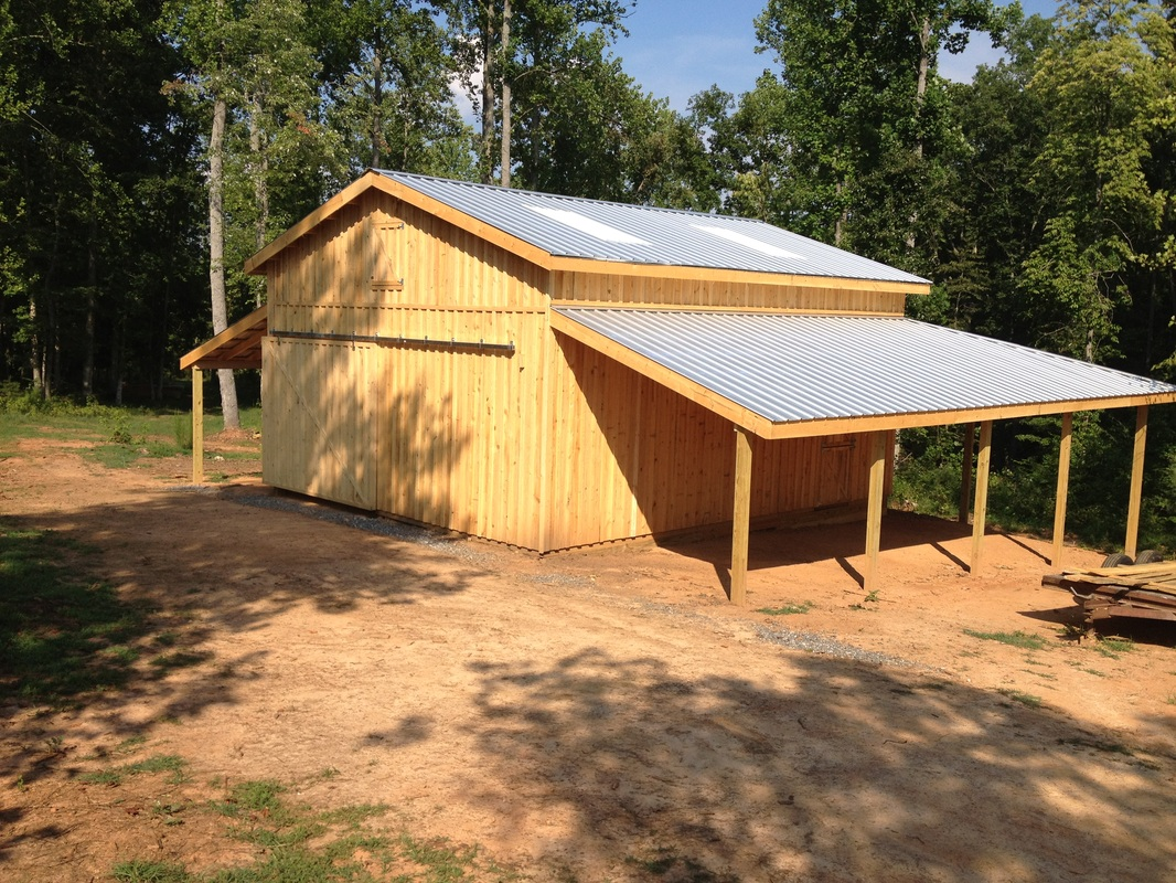 Horse barns for Barns garages