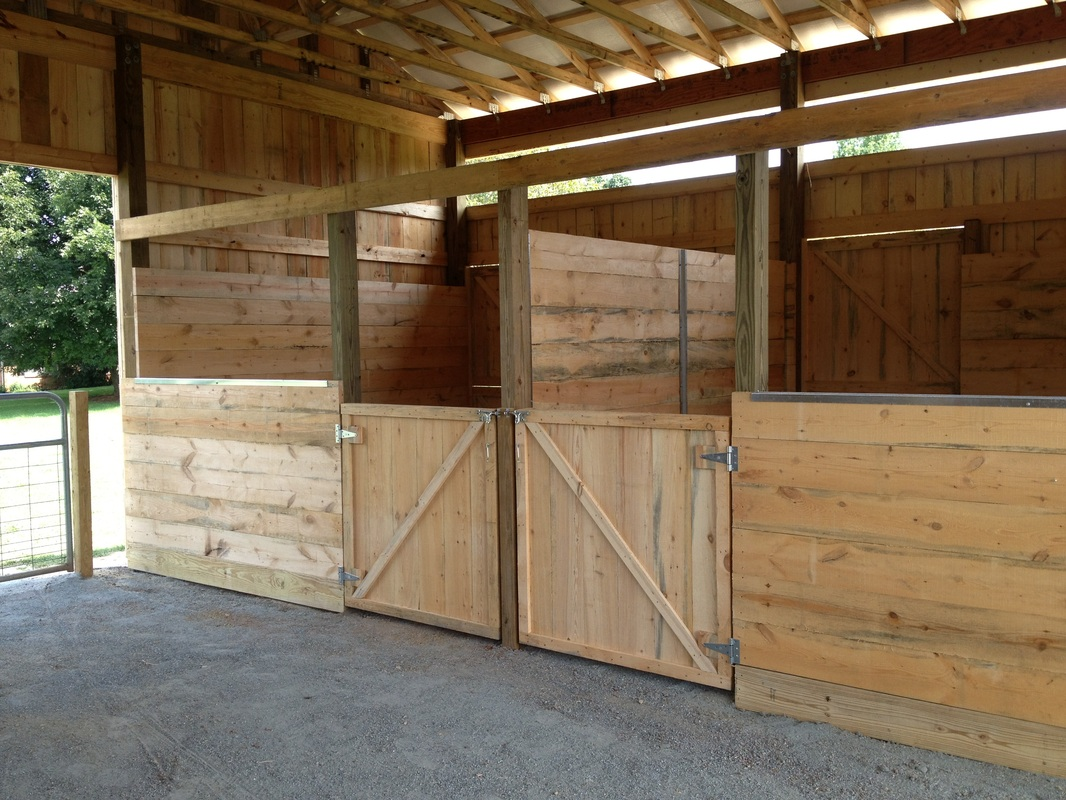 Horse Barns Do It Yourself : Horse stalls